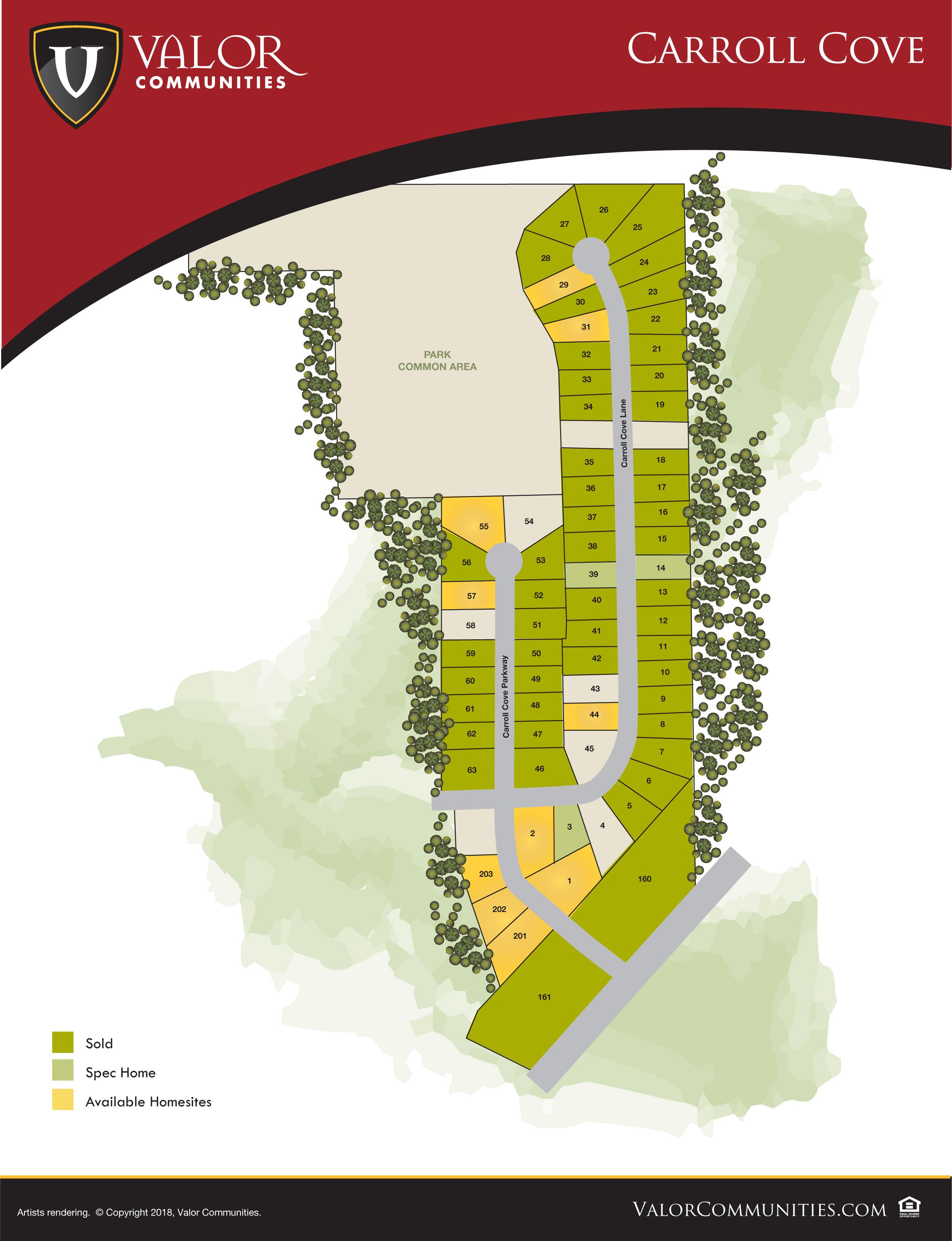 Carroll Cove Community Map