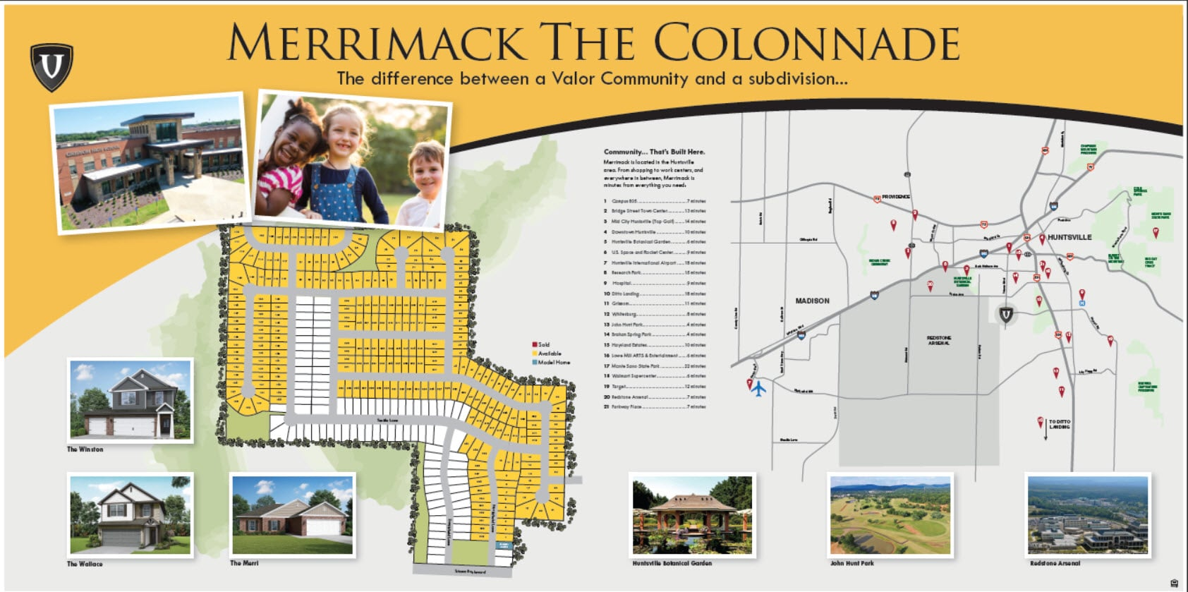 VC Merrimack COLONNADE Combo