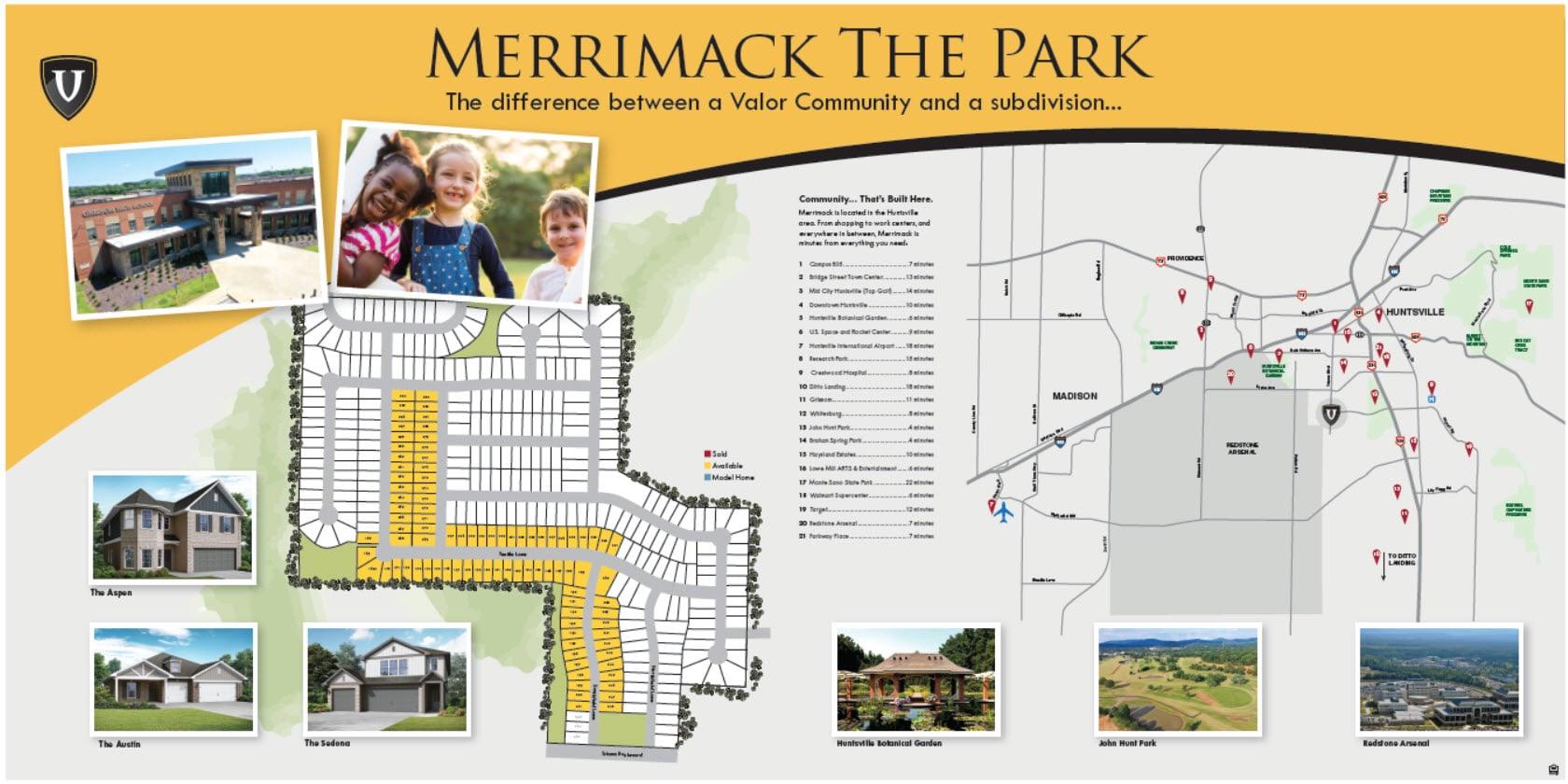 VC Merrimack PARK combo
